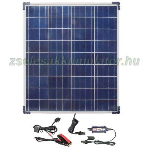 Optimate Solar 80W napelemes töltő