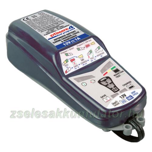 TecMate Optimate 4 dual akkumulátor töltő