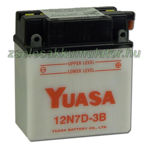 Yuasa 12N7D-3B 12V 7Ah Motor akkumulátor