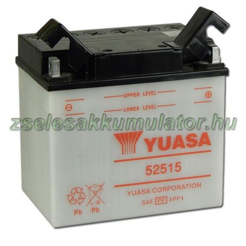 Yuasa 52515 12V 25Ah Motor akkumulátor