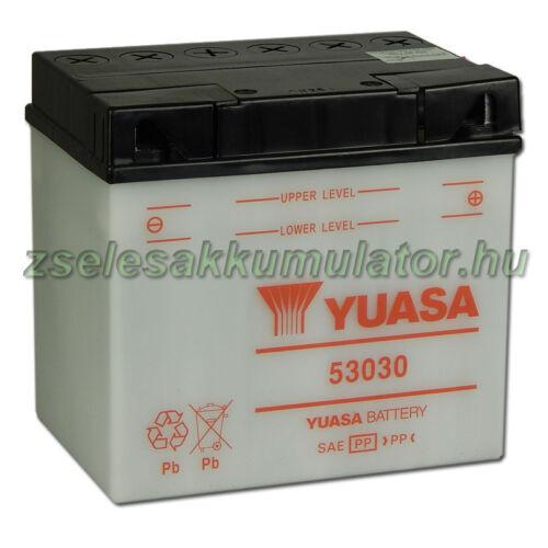 Yuasa 53030 12V 30Ah Motor akkumulátor