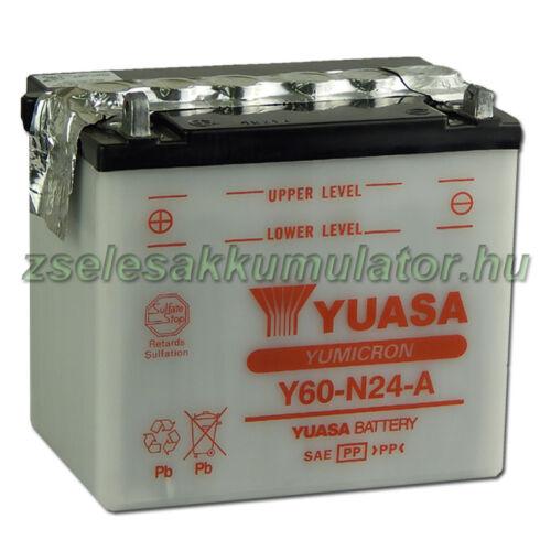 Yuasa Y60-N24A 12V 28Ah Motor akkumulátor
