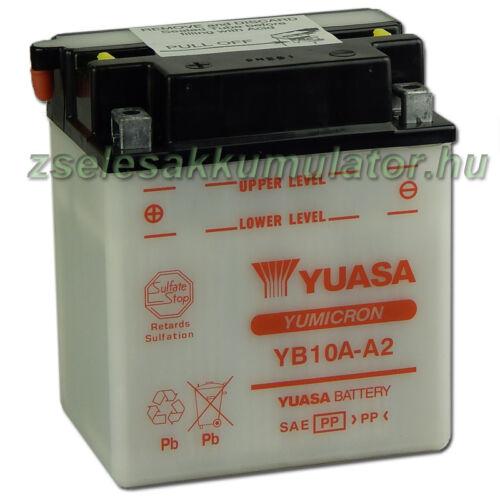 Yuasa YB10A-A2 12V 11Ah Motor akkumulátor