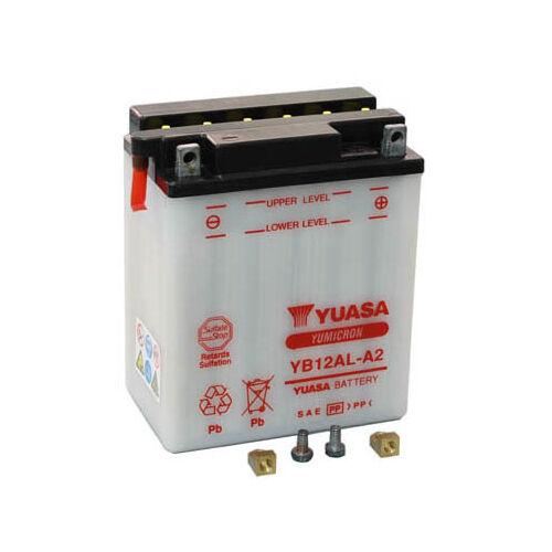 Yuasa YB12AL-A2 12V 12Ah Motor akkumulátor