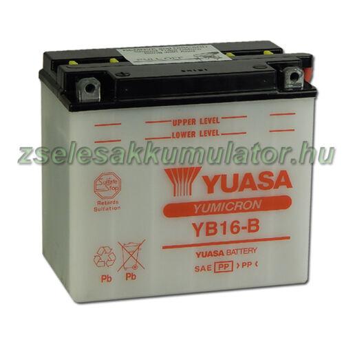 Yuasa YB16-B 12V 19Ah Motor akkumulátor