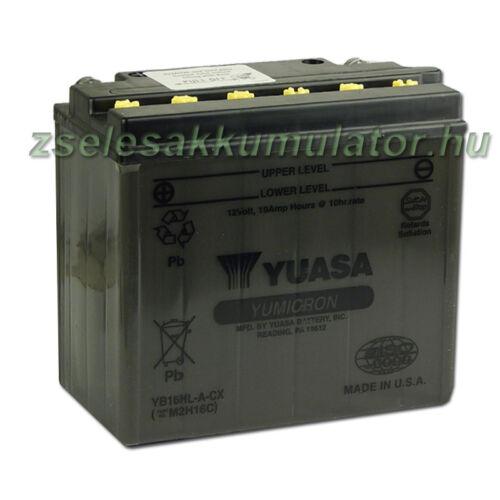 Yuasa YB16HL-A-CX 12V 19Ah Motor akkumulátor