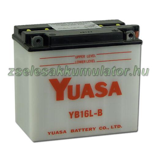 Yuasa YB16L-B 12V 19Ah Motor akkumulátor