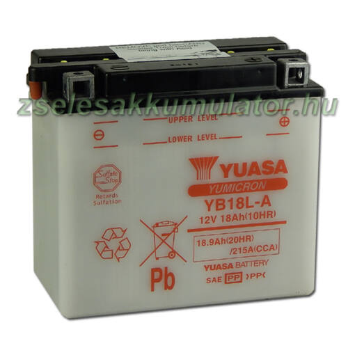 Yuasa YB18L-A 12V 18Ah Motor akkumulátor