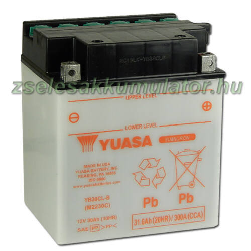 Yuasa YB30CL-B 12V 30Ah Motor akkumulátor