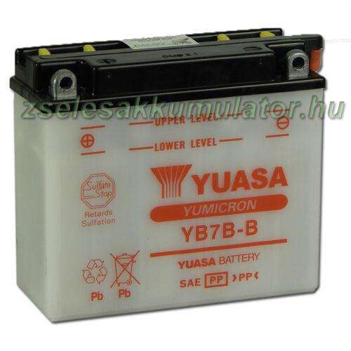 Yuasa YB7B-B 12V 7Ah Motor akkumulátor