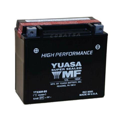 Yuasa YTX20H-BS 12V 18Ah gondozásmentes AGM (zselés) motor akkumulátor