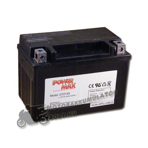 Power Max GTZ14-S 12V 11,2Ah Motor akkumulátor