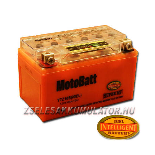 MotoBatt IGEL YTZ10-S I-GEL 12V 8,6Ah Motor akkumulátor