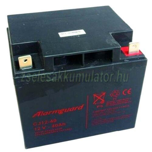 Alarmguard 12V 40Ah Zselés akkumulátor CJ 12-40