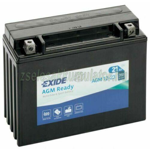 Exide AGM 12-23 (Y50-N18L-A) 12V 21Ah gondozásmentes AGM (zselés) motor akkumulátor
