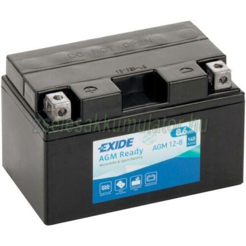 Exide AGM 12-8 (YTZ10-BS) 12V 8Ah gondozásmentes AGM (zselés) motor akkumulátor