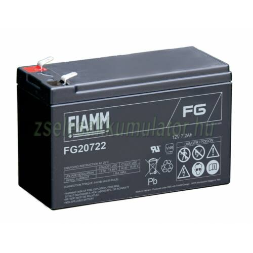 Fiamm 12V 7,2Ah FG20722