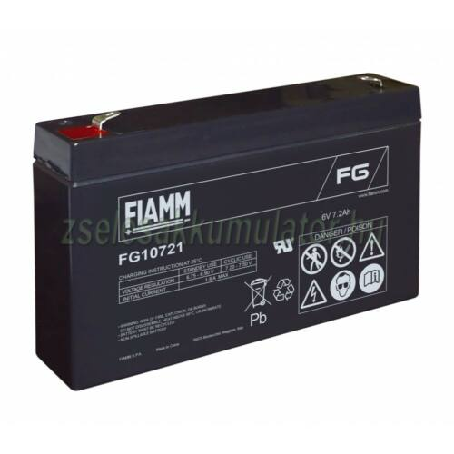 Fiamm 6V 7,2Ah FG10721