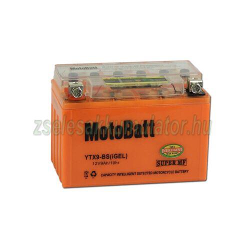 MotoBatt IGEL YTX9-BS I-GEL 12V 8Ah Motor akkumulátor