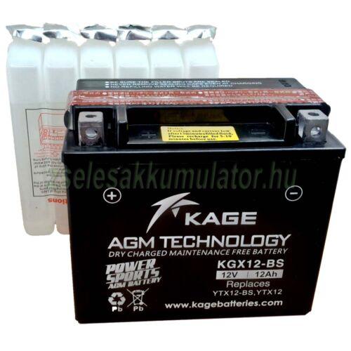 Kage YTX12-BS motor akkumulátor