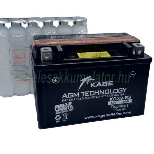Kage YTX9-BS (KGX9-BS) 12V 9Ah Motor akkumulátor
