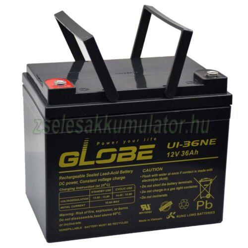 GLOBE U1-36NE 12V 36Ah kerekesszék akkumulátor