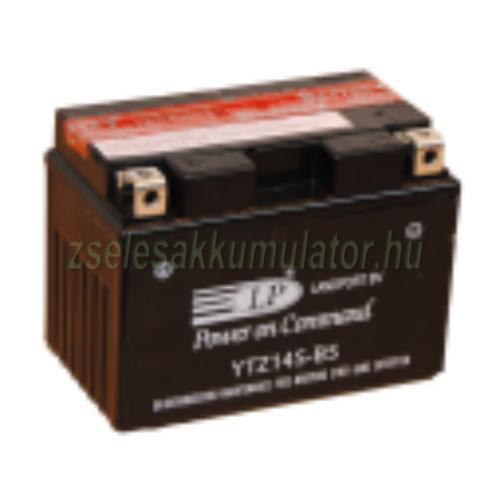Landport YTZ14S-BS 12V 12Ah gondozásmentes AGM (zselés) motor akkumulátor