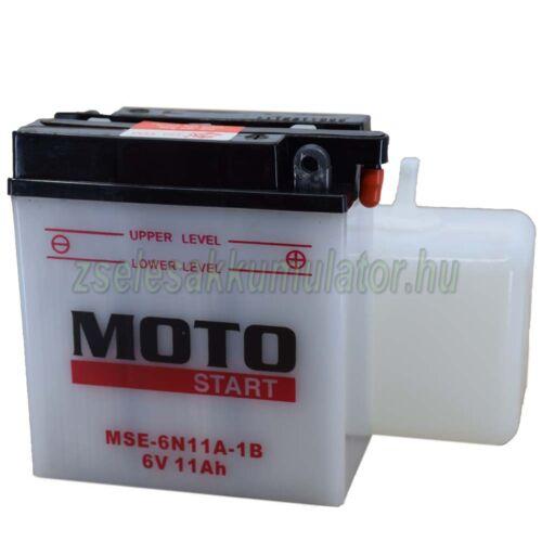 Motostart 6N11A-1B motor akkumulátor
