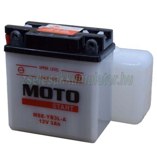 Motostart YB3L-A motor akkumulátor