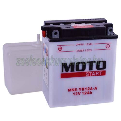 MotoStart YB12A-A (sav csomagos) 12V 12Ah Motor akkumulátor