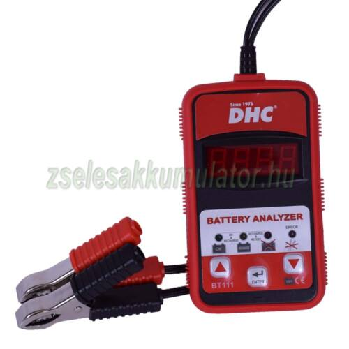 DHC-BT111 digitális akkumulátor tesztelő