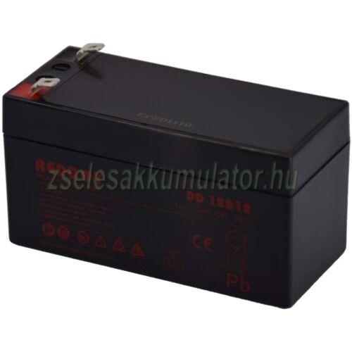 Reddot 12V 1,2Ah Zselés akkumulátor DD12012