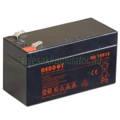 Reddot 12V 1,2Ah zselés akkumulátor