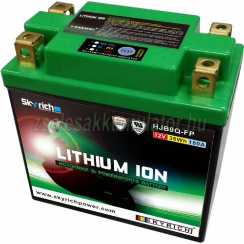 Skyrich HJB9Q-FP Lítium ion motor akkumulátor