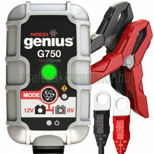 NOCO Genius G750 automata lithium-ion töltő 6V / 12V-1A