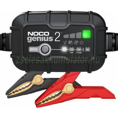 NOCO Genius 2 automata lithium-ion töltő 6V / 12V