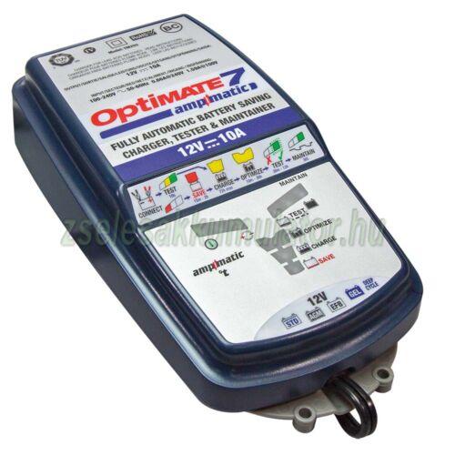 TecMate Optimate 7 akkumulátor töltő