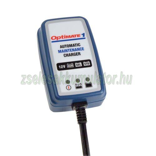 TecMate Optimate 1 akkumulátor töltő