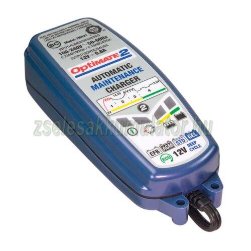 TecMate Optimate 2 akkumulátor töltő