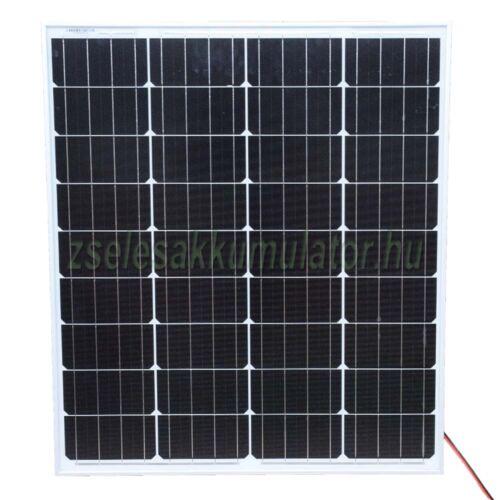 Solar 80W napelemes töltő