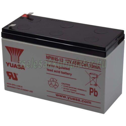 Yuasa NPW45-12 12V 8,5Ah Zselés akkumulátor