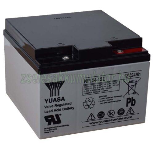 yuasa npl24-12i zselés akkumulátor