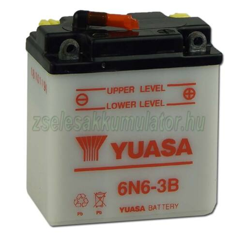 Yuasa 6N6-3B 6V 6Ah Motor akkumulátor