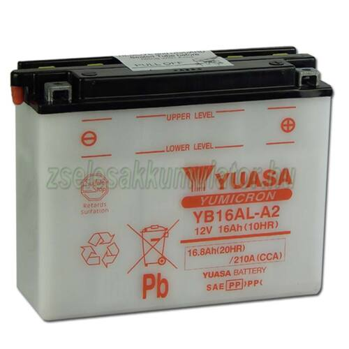 Yuasa YB16AL-A2 12V 16Ah Motor akkumulátor