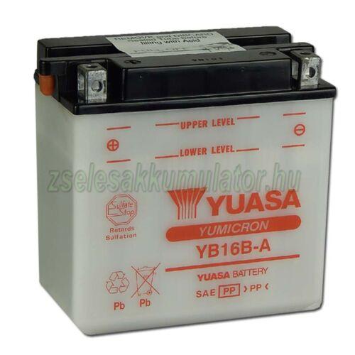 Yuasa YB16B-A 12V 16Ah Motor akkumulátor