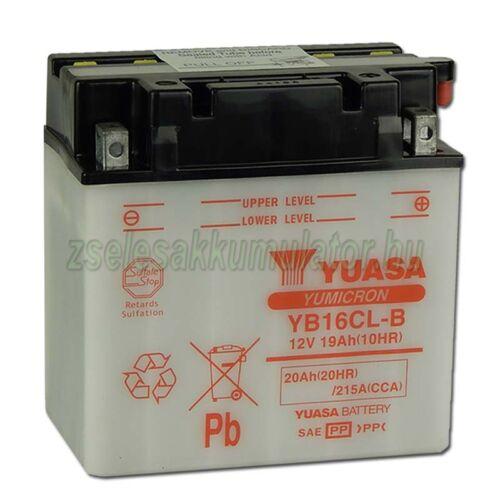 Yuasa YB16CL-B 12V 19Ah Motor akkumulátor