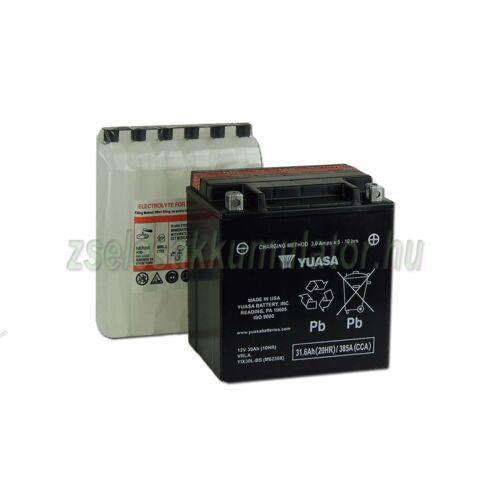 Yuasa YIX30L-BS 12V 30Ah gondozásmentes AGM (zselés) motor akkumulátor