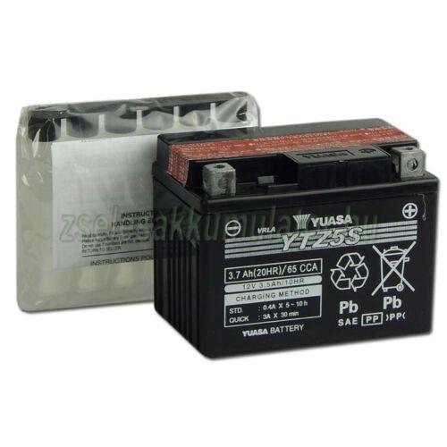 Yuasa YTZ5S 12V 3,5Ah gondozásmentes AGM (zselés) motor akkumulátor