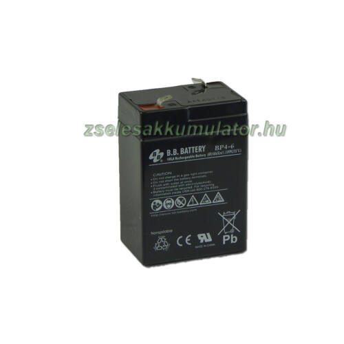 BB Battery 6V 4Ah Zselés akkumulátor