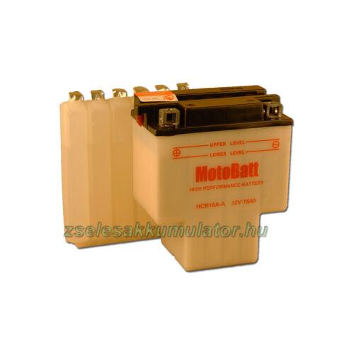 MotoBatt HCB16A-A (sav csomagos) 12V 16Ah Motor akkumulátor